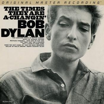 bob dylan - the times they are a-changin' (hybrid sacd mono)