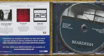 beardfish – sleeping in traffic: part two (cd)