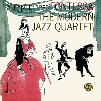 modern jazz quartet - fontessa (33rpm lp)