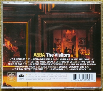 abba – the visitors 30th anniversary (cd)