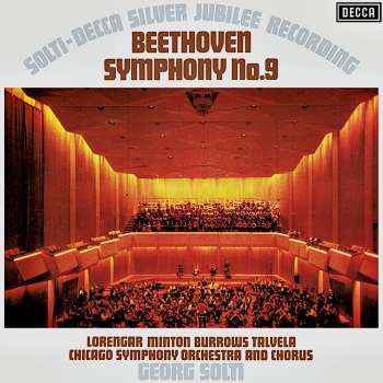 beethoven - symphony no. 9  (2 x 33rpm lp)