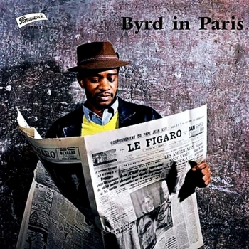 donald byrd - byrd in paris (33rpm lp)