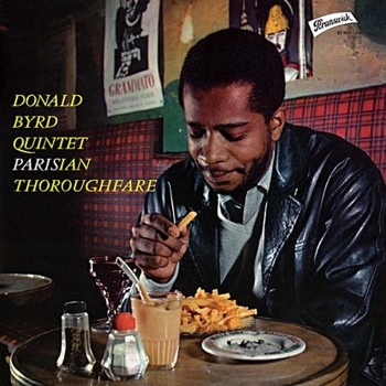 donald byrd - parisian thoroughfare (33rpm lp 2nd pressing)