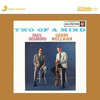 paul desmond & gerry mulligan – two of a mind (k2 hd cd)