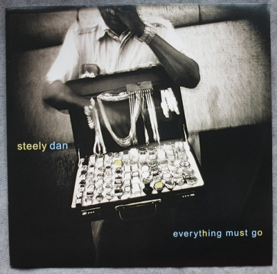 steely dan - everything must go (33rpm lp)