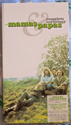 the mamas & the papas - complete anthology (4 x cd compilation box set)
