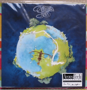 yes - fragile (33rpm lp)