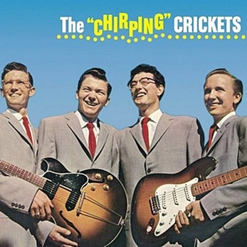 buddy holly - the chirping crickets (33rpm lp)