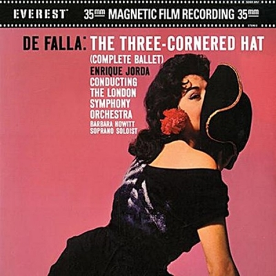 falla - the three-cornered hat (2 x 45rpm lp)