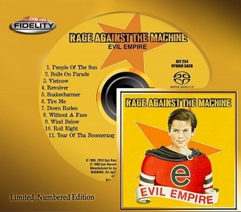 rage against the machine - evil empire (hybrid sacd)