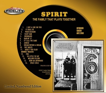 spirit - the family that plays together (hybrid sacd)