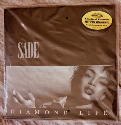 sade – diamond life (33rpm lp)