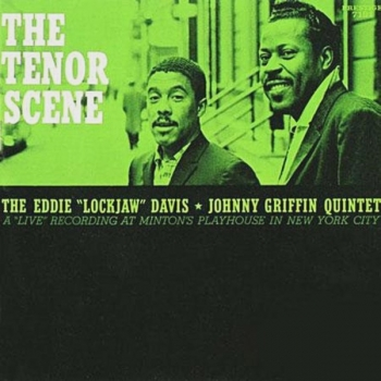 "eddie ""lockjaw"" davis & johnny griffin - the tenor scene (33rpm lp)"