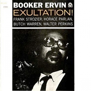 booker ervin - exultation! (33rpm lp)