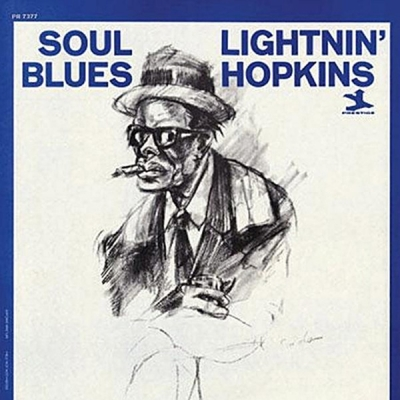 lightnin' hopkins - soul blues (33rpm lp)
