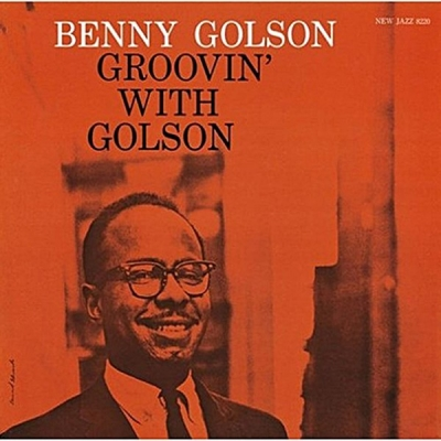 benny golson - groovin' with golson (33rpm lp)