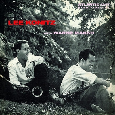 lee konitz with warne marsh (33rpm lp)