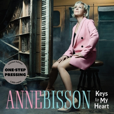 anne bisson - keys to my heart (2 x 45rpm one-step pressing)