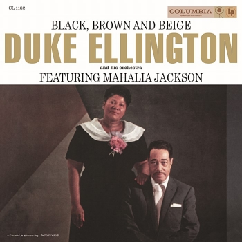 duke ellington / mahalia jackson - black, brown and beige (2 x 33rpm lp)