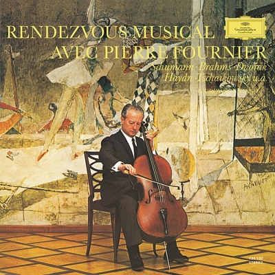 rendezvous musical avec pierre fournier (2 x 45rpm lp)