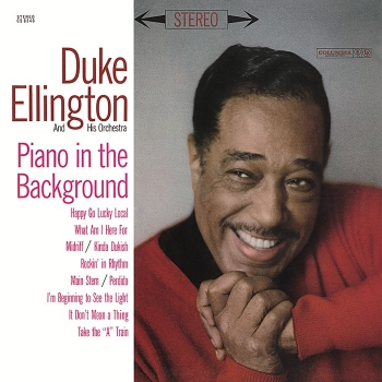duke ellington - piano in the background (33rpm lp)