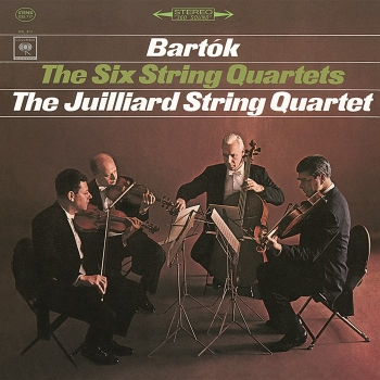 bartók - the six string quartets (3 x 180gr lp box)