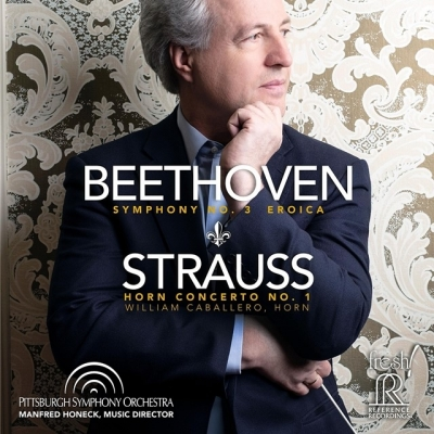 beethoven - symphony no. 3 / strauss - horn concerto no. 1 (hybrid sacd)