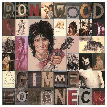 ron wood - gimme some neck (33rpm lp)