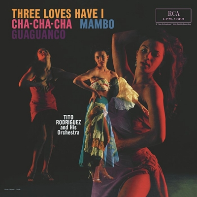 tito rodriguez - three loves have i (33rpm lp)