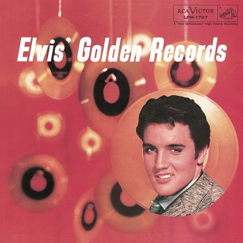 elvis presley - elvis' golden records (33rpm lp)