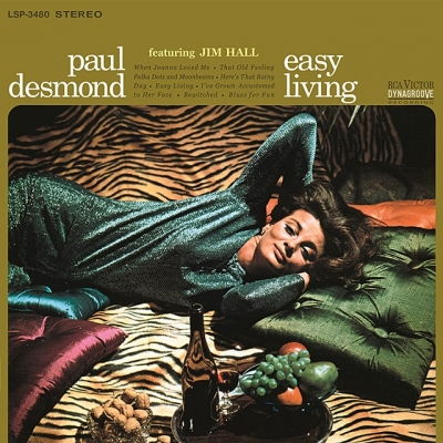 paul desmond - easy living (33rpm lp)