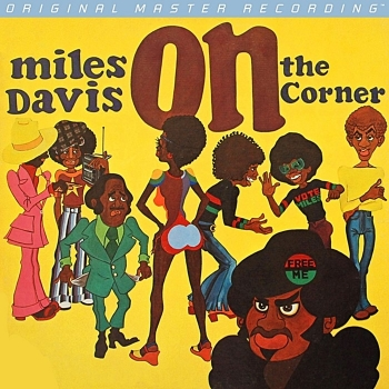 miles davis - on the corner (33rpm lp halfspeed)