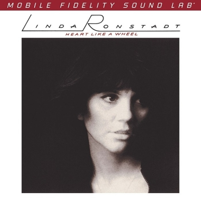 linda ronstadt - heart like a wheel (33rpm lp halfspeed)