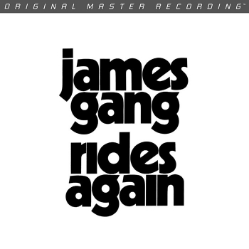 james gang - rides again (33rpm lp halfspeed)