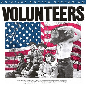 jefferson airplane - volunteers (2 x 45rpm halfspeed)