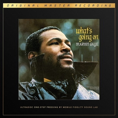 marvin gaye - what's going on (2 x 45rpm ultradisc one step lp box halfspeed)