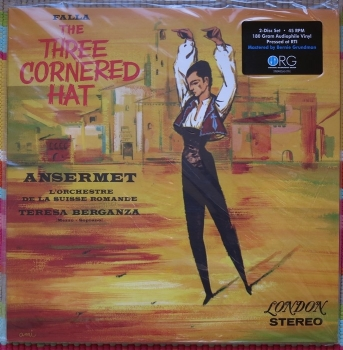 de falla - the three-cornered hat (2 x 45rpm lp)
