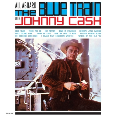 johnny cash - all aboard the blue train (33rpm lp)