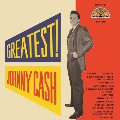 johnny cash - greatest! (33rpm lp)