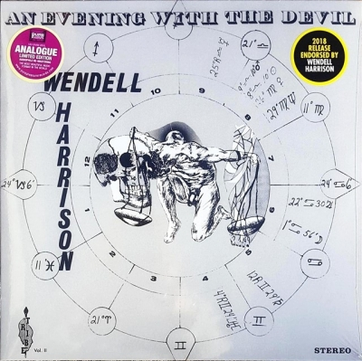wendell harrison - an evening with the devil (33rpm lp)