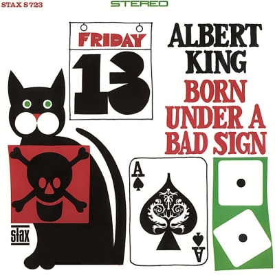 albert king - born under a bad sign (33rpm lp)