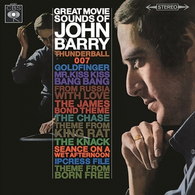 john barry - great movie sounds (33rpm lp)