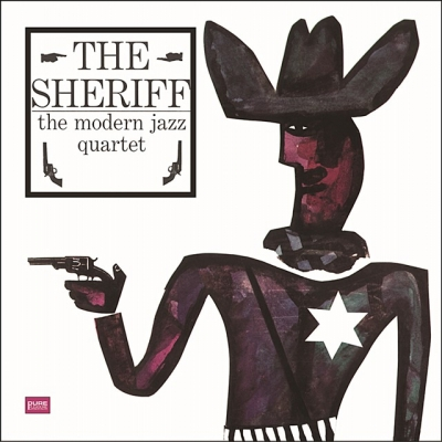 modern jazz quartet - the sheriff (33rpm lp)