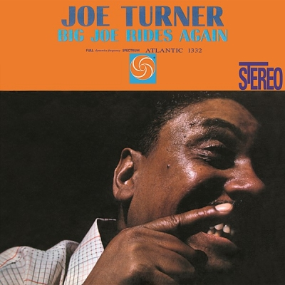 joe turner - big joe rides again (33rpm lp)
