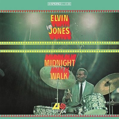 elvin jones - midnight walk (33rpm lp)
