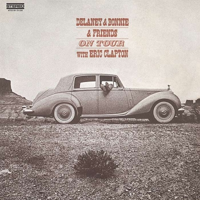 delaney & bonnie & friends with eric clapton - on tour (33rpm lp)