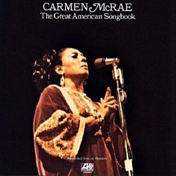 carmen mcrae - the great american songbook (2 x 33rpm lp)