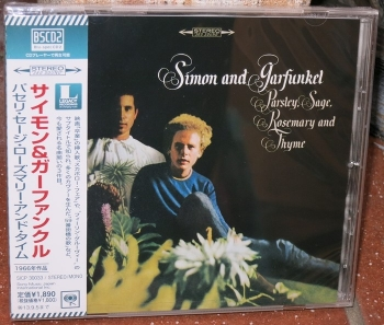 simon & garfunkel - parsley, sage, rosemary and thyme (blue spec cd2)