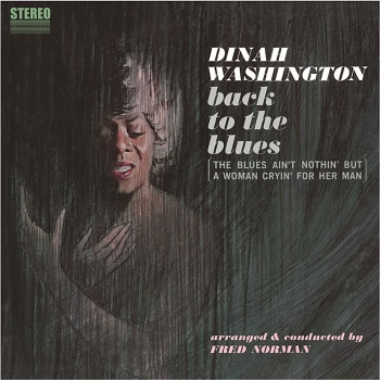 dinah washington - back to the blues (33rpm lp)