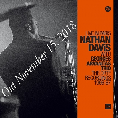 nathan davis & georges arvanitas trio - live in paris (3 x 33rpm lp)